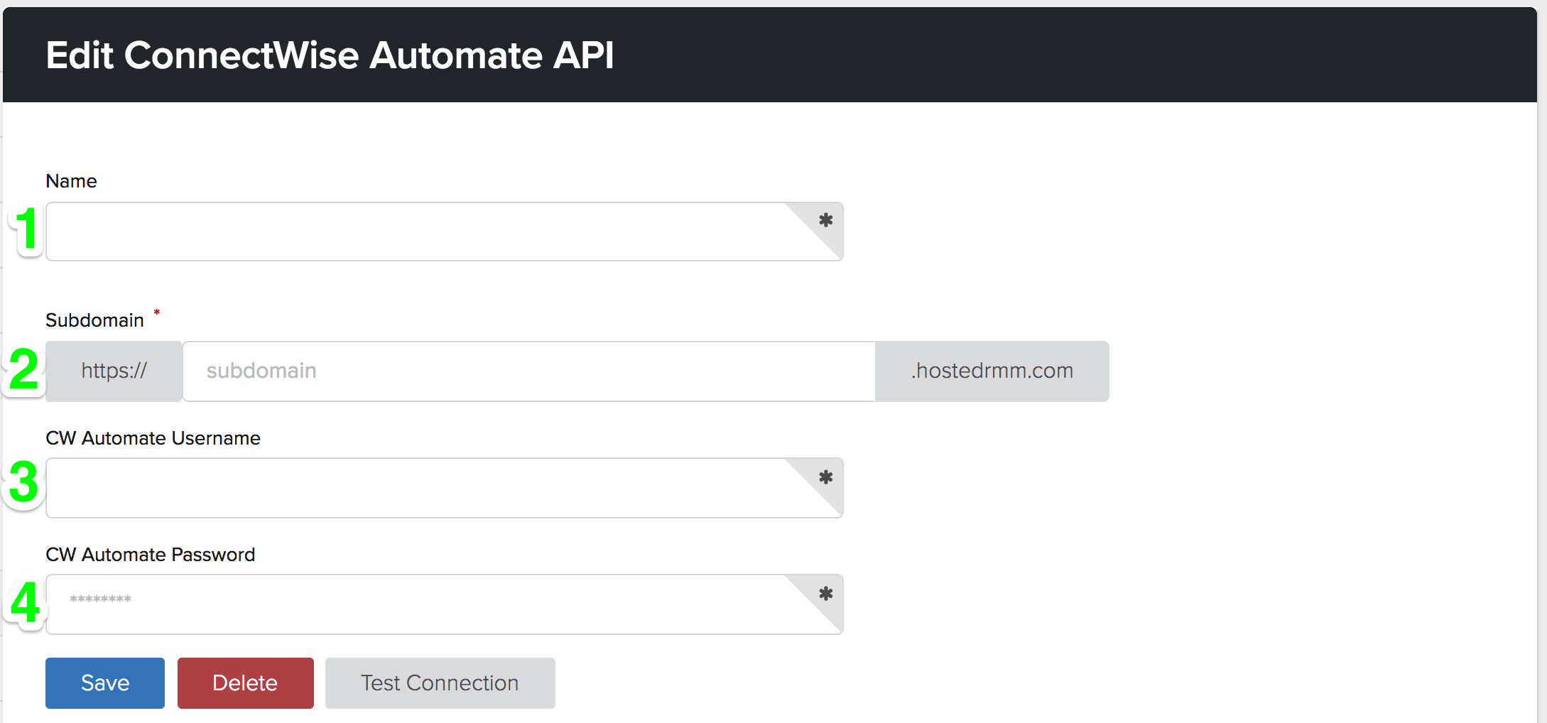 Connecting to ConnectWise Automate (LabTech) Cloud